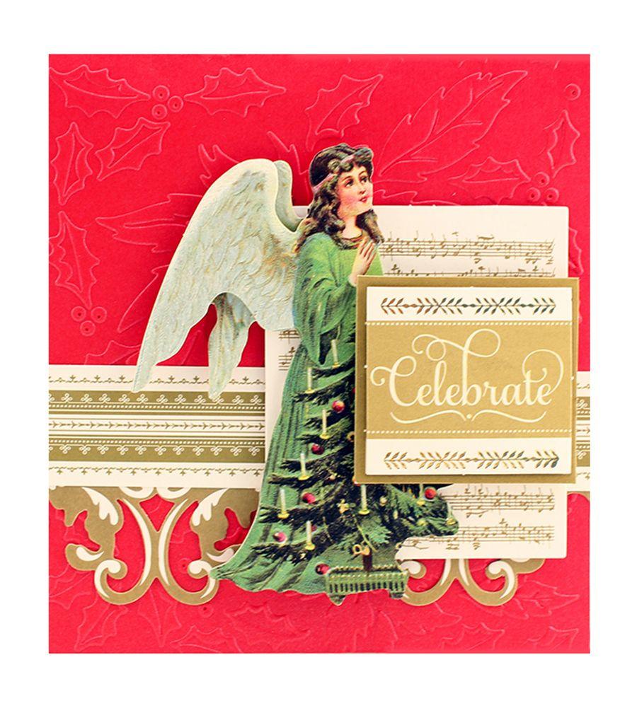 "HSN 10.5- 12"" Christmas Embossing Folders"