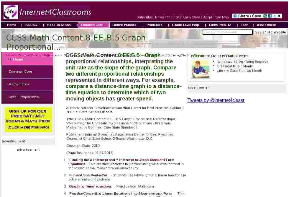 CCSS.Math.Content.8.EE.B.5 Graph Proportional Relationships,