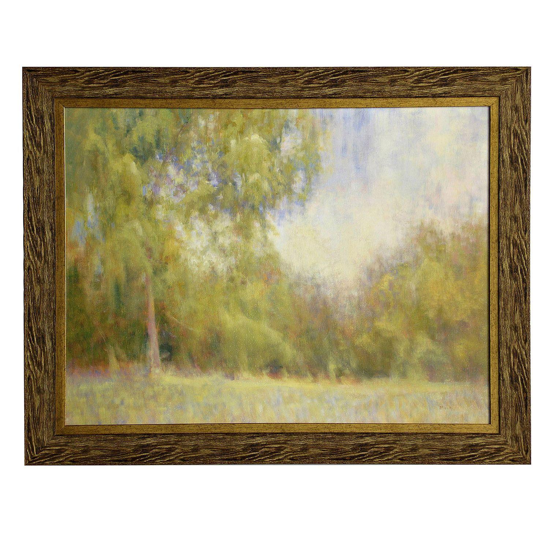 Traditional Tree Landscape Framed Wall Art | Framed wall art ...