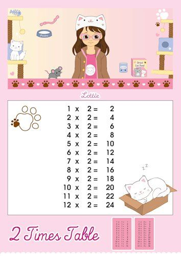 times tables charts for kids free printables download at http also table printable chart learn with lottie learning rh pinterest