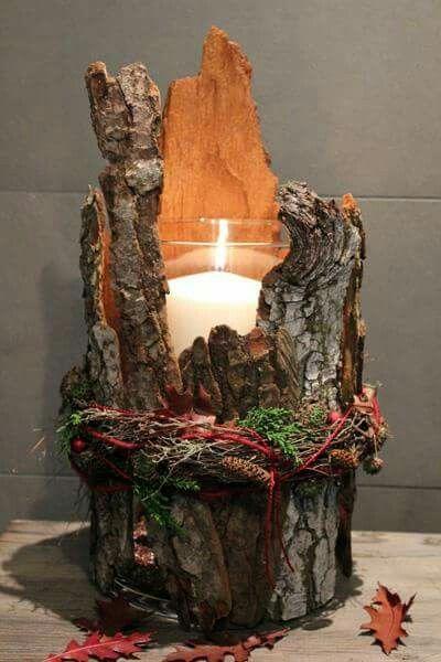 Mogen Sie Teelichter Oder Kerzen 15 Kreative Schone Und Gunstige Teelichthalter Con Immagini Decorazioni Natalizie Rustiche Idee Di Natale Mestieri Fai Da Te