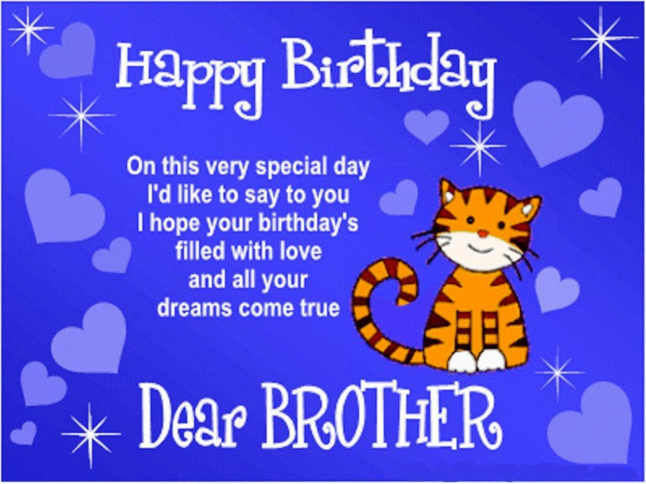 85 best images about My Brother – Happy Birthday Cards for My Brother
