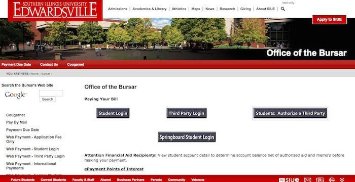 SIUE Bill Pay Online, Login, Customer Service & SignIn