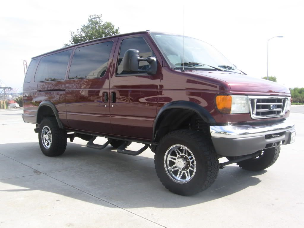 2005 Ford E350 4x4 Van Expedition Portal With Images 4x4 Van