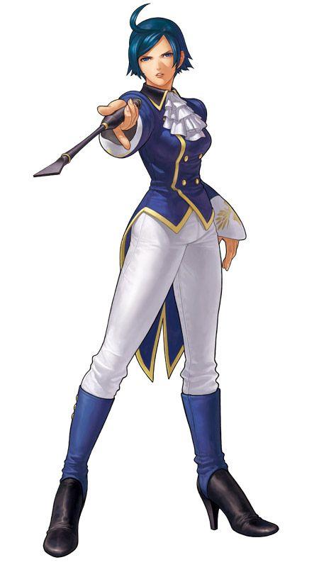 King Of Fighters XII KOF Game Character Official Artwork Render Elisabeth Branctorche