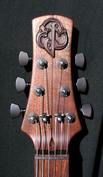 William Jeffrey Jones Guitars Satyrn 1 Guitar Inlay Guitar Design Guitar Crafts