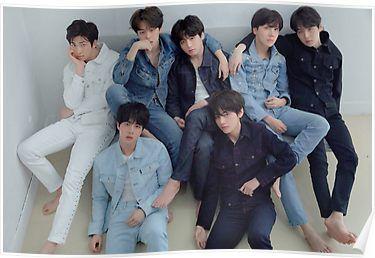 BTS LOVE YOURSELF 轉 TEAR // R VER Poster