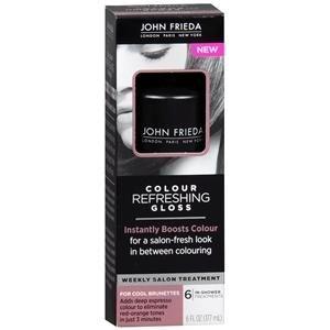 buy john frieda colour refreshing gloss weekly salon treatment cool brunettes - Color Refreshing Gloss