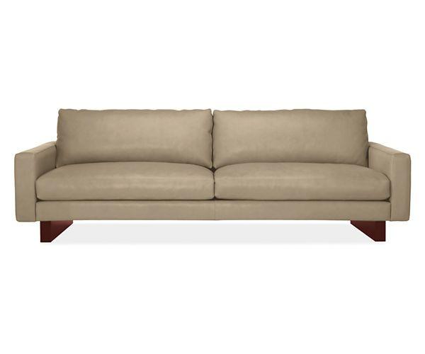 Hess Leather Sofa Modern Sofas