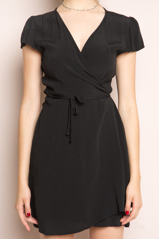 Black t shirt dress brandy melville - Brandy Melville Robbie Dress Dresses Clothing