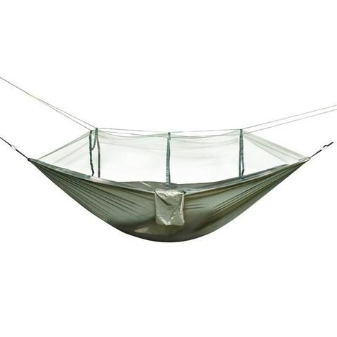 Bedding Bedding Sets Reasonable 1-2 Person Outdoor Camping Hammock With Mosquito Net Portable Parachute Hanging Bed Hunting Sleeping Swing For Travel Yard