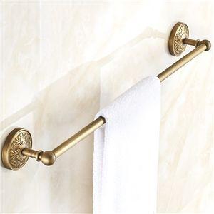 (EU Lager)Antik Messing Handtuchstange Einarmig Handtuchhalter Badezimmer