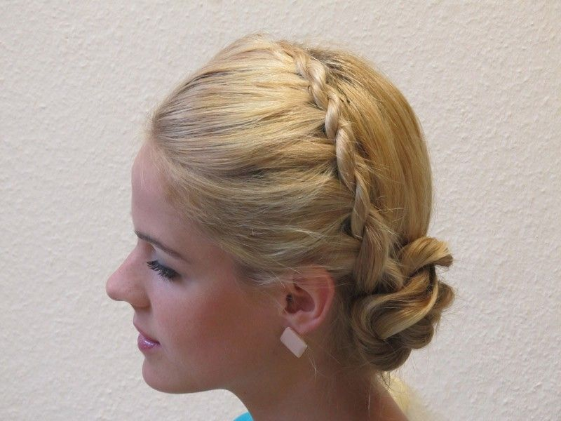 Dirndl Frisuren Kurze Haare Youtube Hair Style Women Pinterest