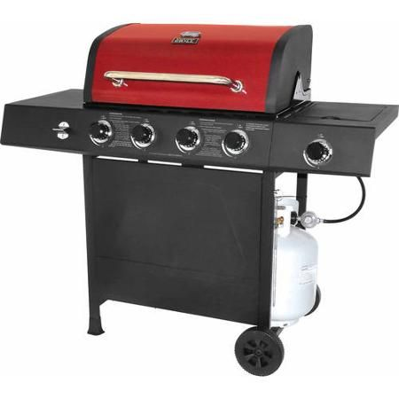 Backyard Grill 4 Burner Gas Grill With Side Burner 148 00 Walmart Com One Of Consumer Reports Top Midsize Grills Stainless Steel Bbq Outdoor Cooking Propane Gas Grill,Stainless Steel Vs Nonstick Pressure Cooker