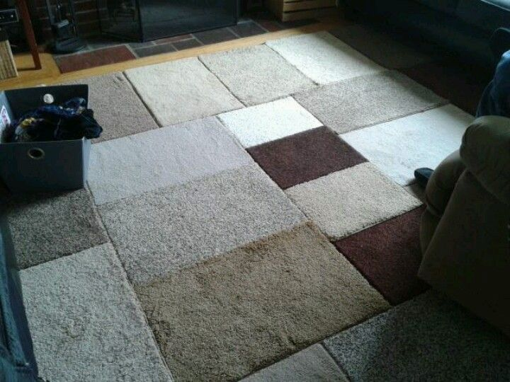 22 Carpet Samples For 15 And 2 Rolls Of Duct Tape 12x12 Area Rug