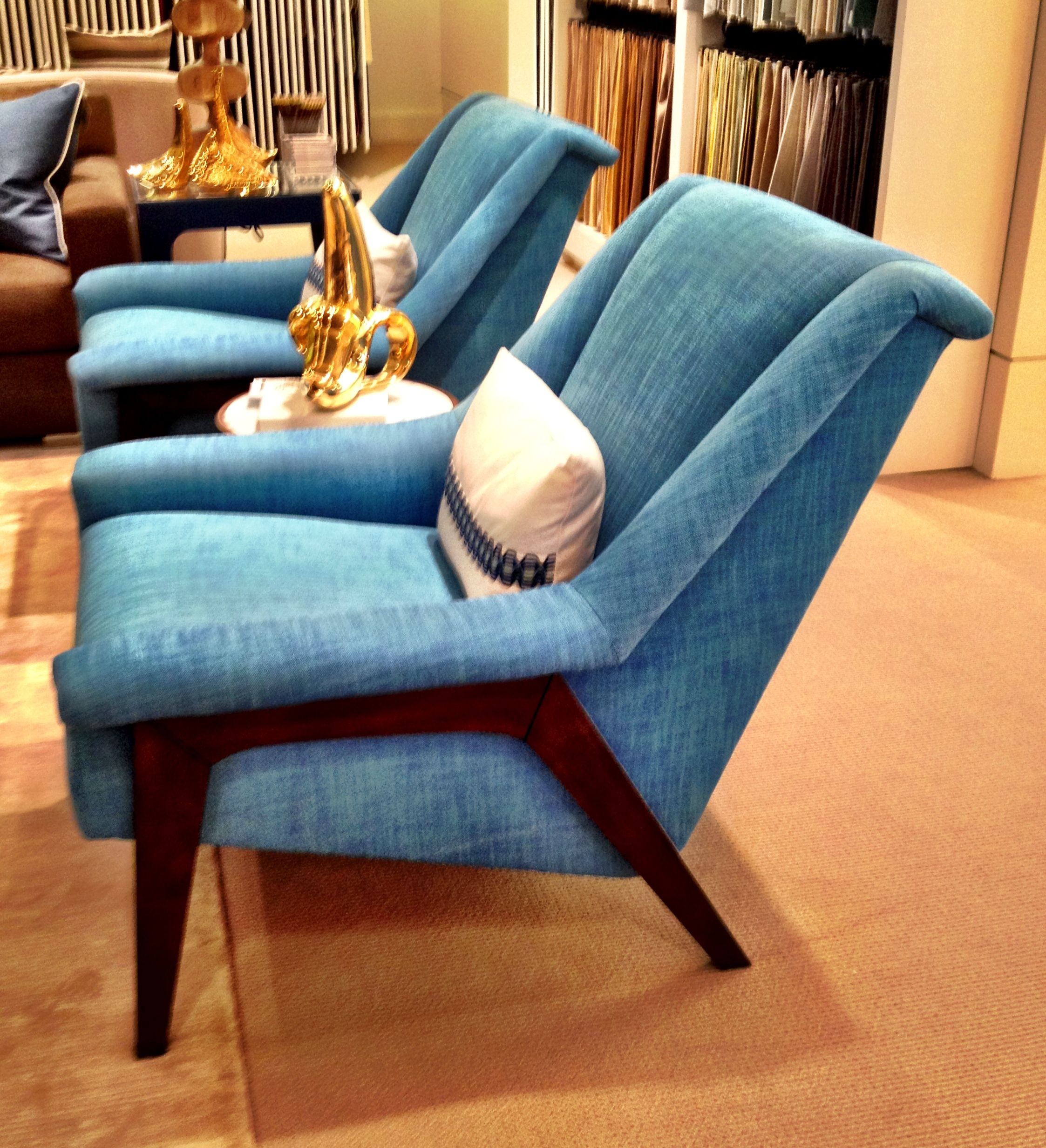 Love The Kravet Windham Chair In This Blue