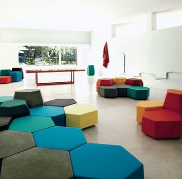 Cluster hexagons in color lacquer finish could be nice - Maison insolite la toy house par pascali semerdjian architects ...