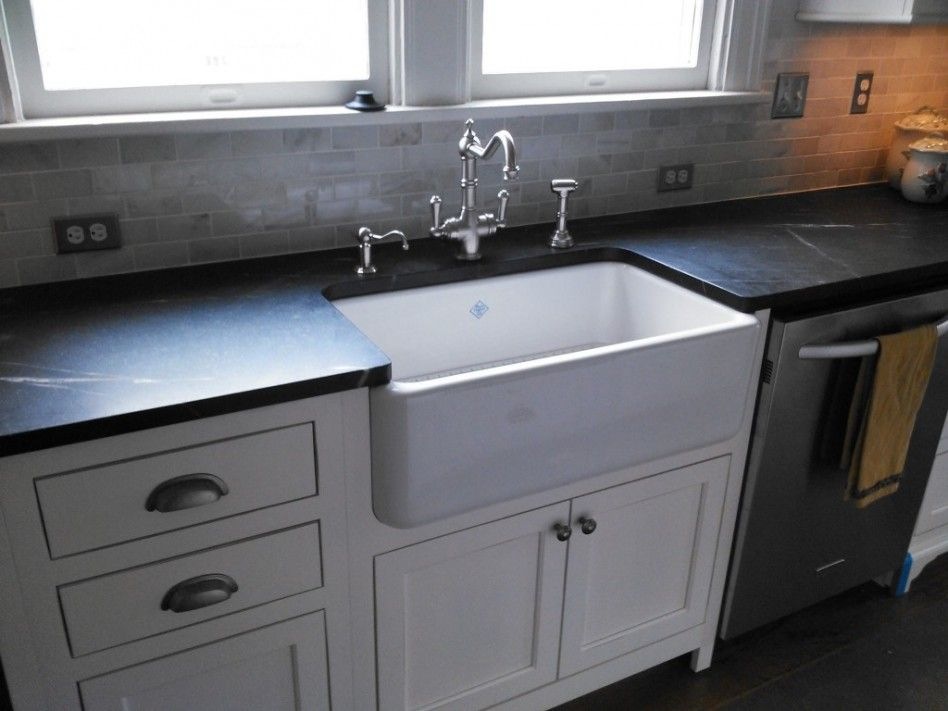 Pin By Torrie Kochanowicz On Kitchen Slate Kitchen Slate Countertop White Wood Kitchens