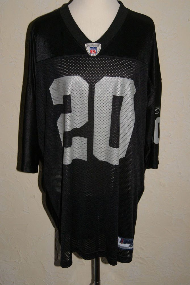 OKLAND RAIDERS Reebok NFL Equipment #20 Darren McFadden Football Jersey Size XXL #Reebok #OaklandRaiders
