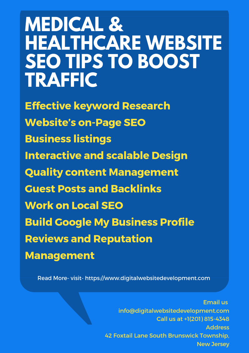 Healthcare and Medical Website SEO Services & Tips To
