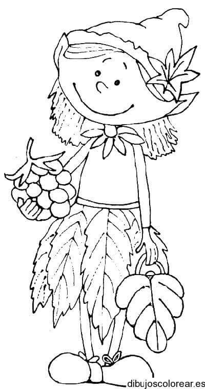Pin By Graciela Garcia On Dibujo Art Drawings For Kids Autumn Crafts Coloring Pages