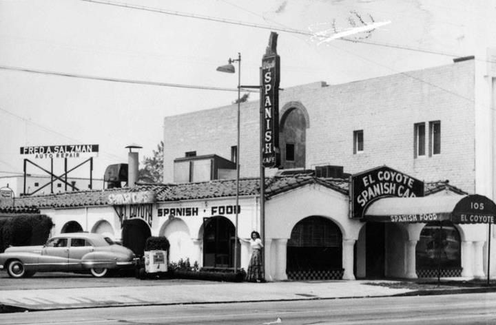 Historic L A Mexican Restaurants Los Angeles Restaurants Los Angeles Los Angeles History