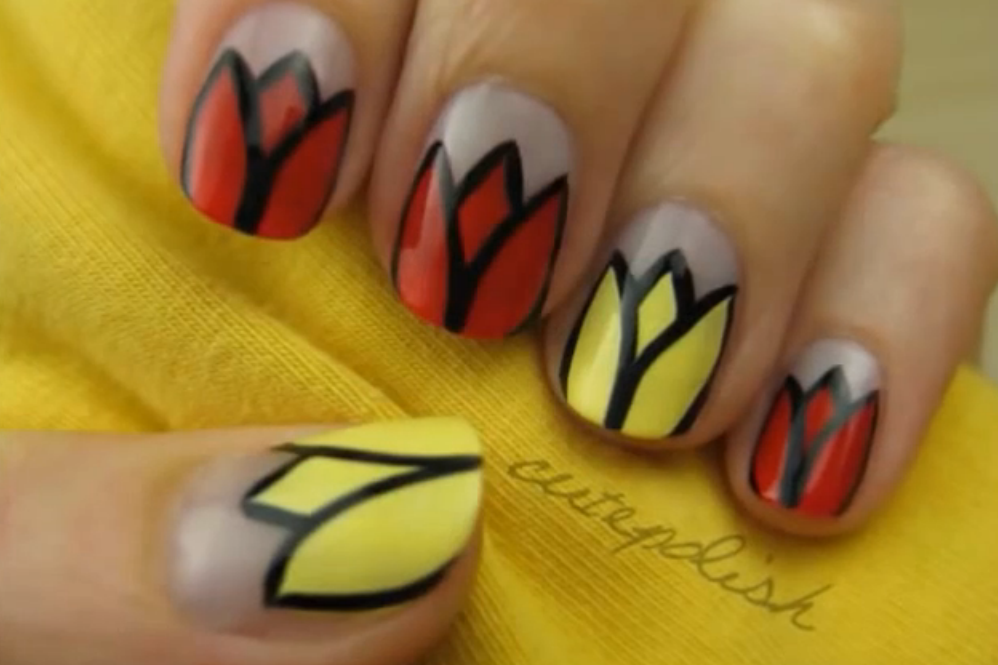Do you think those little tulips are cute? The link below will show ...