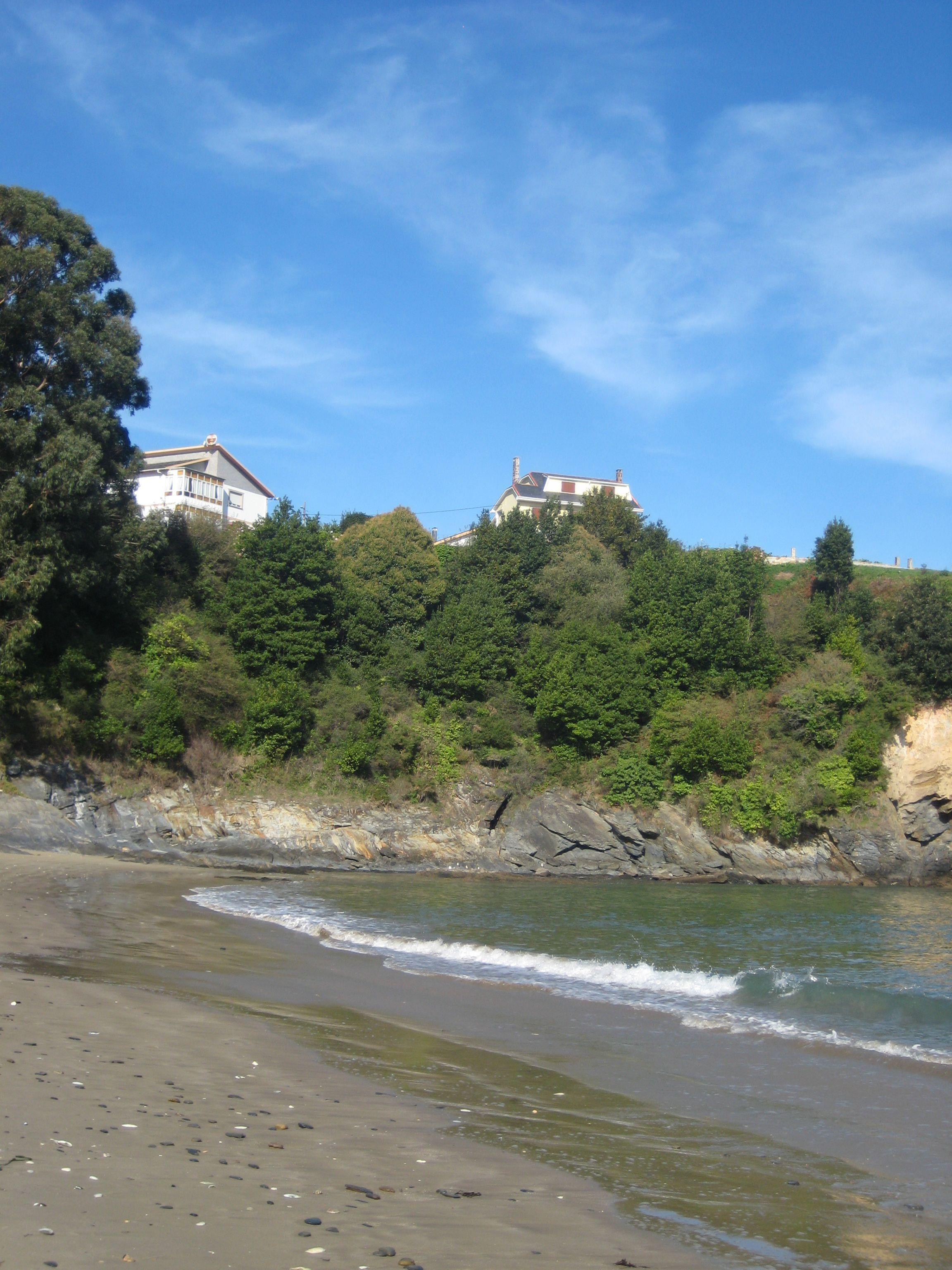Playa de Seiramar. Viveiro. (Lugo). Galicia. Spain.