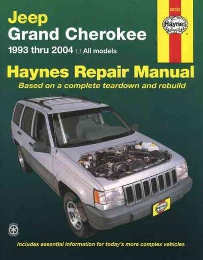 Jeep Grand Cherokee 1993 Thru 2004 All Models Jeep Grand Cherokee