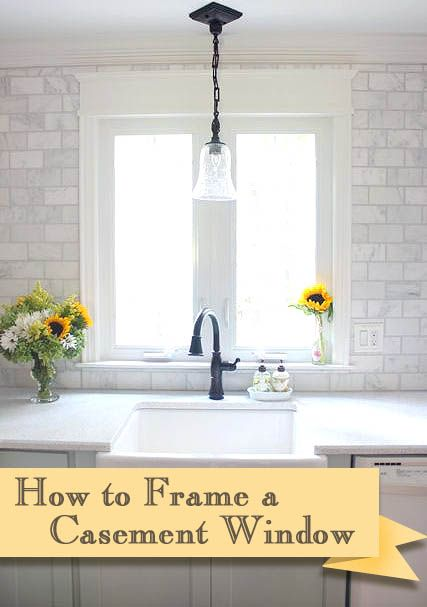 How To Install Trim And Casing Moulding On A Casement Window Interior Window Trim Casement Windows Moldings And Trim