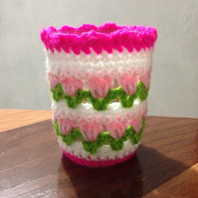 Crochet A Pretty Candle Holder Tulip Pattern Crochet Gifts