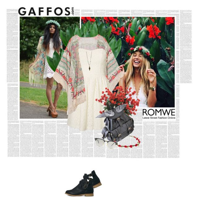 """""""Romwe #10 / Gaffos"""" by kropq ❤ liked on Polyvore"""