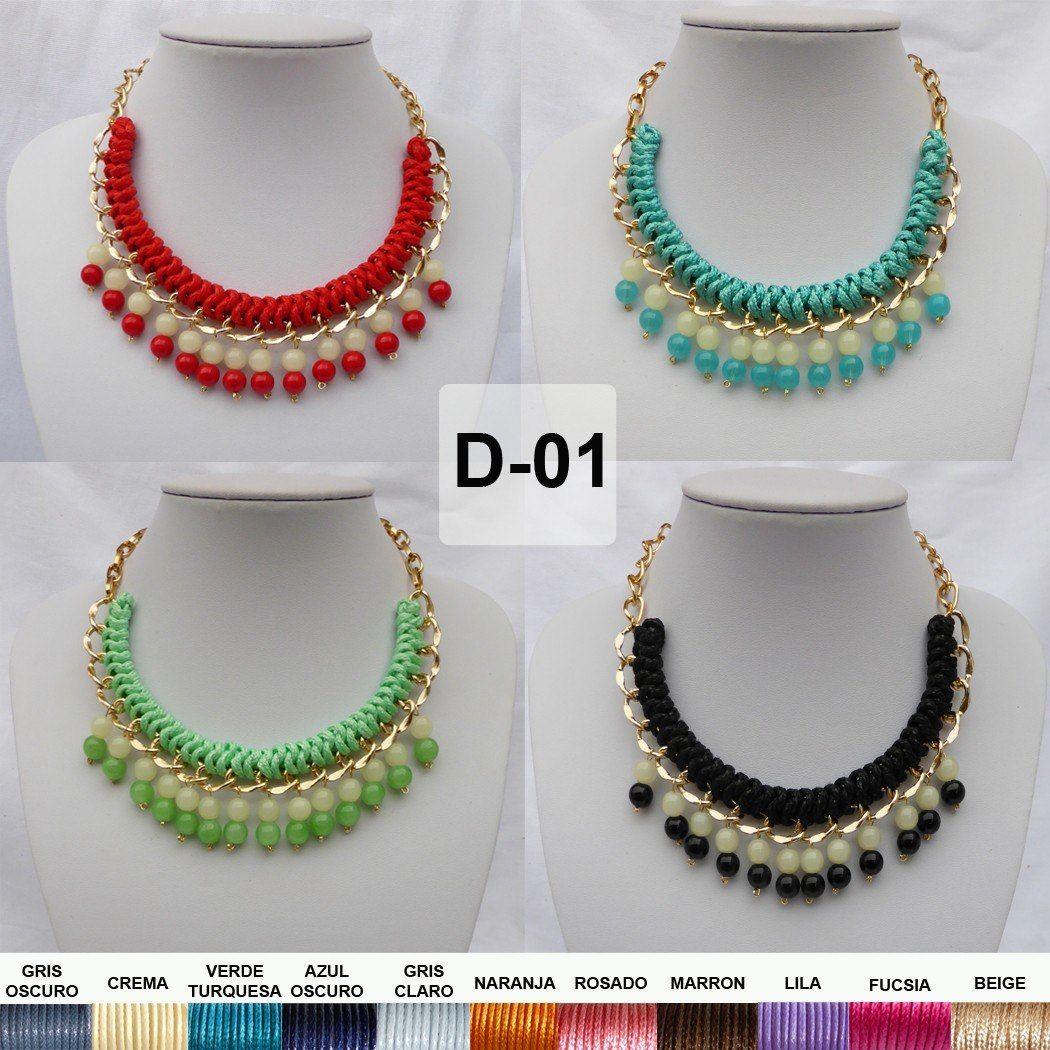 073e1b092dcd collares de moda tejidos