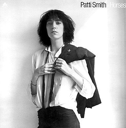 Patty Smith - Horses © Mapplethorpe