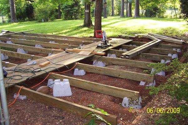 Orr May 2009 Deckplans Floating Deck Floating Deck Plans Building A Floating Deck