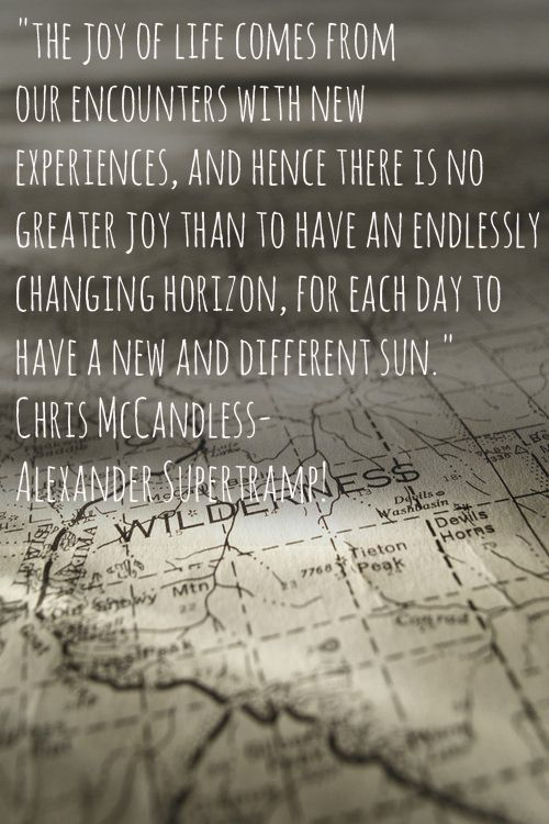 quotes about life changing experiences