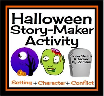 halloween narrative story starters writing prompts