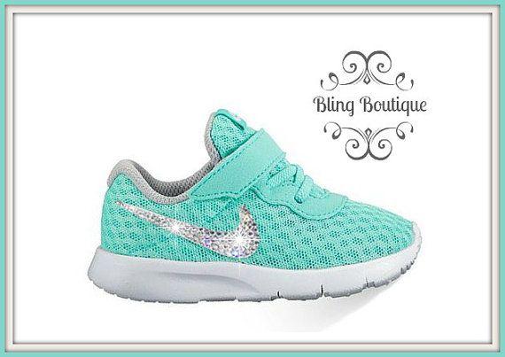 8b2634acd FREE SHIPPING Swarovski® Nike® Shoes KIDS by blingboutiquecompany Nike  Tanjun
