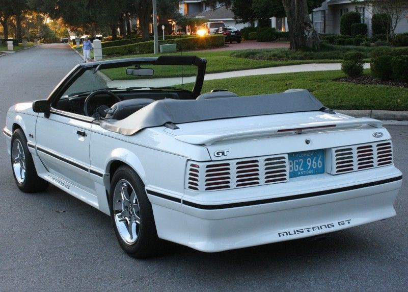 Ford Mustang Gt 1988 Conversivel Mustang Gt Ford Mustang Ford Mustang Gt