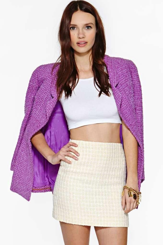 Vintage Chanel Tilly Skirt
