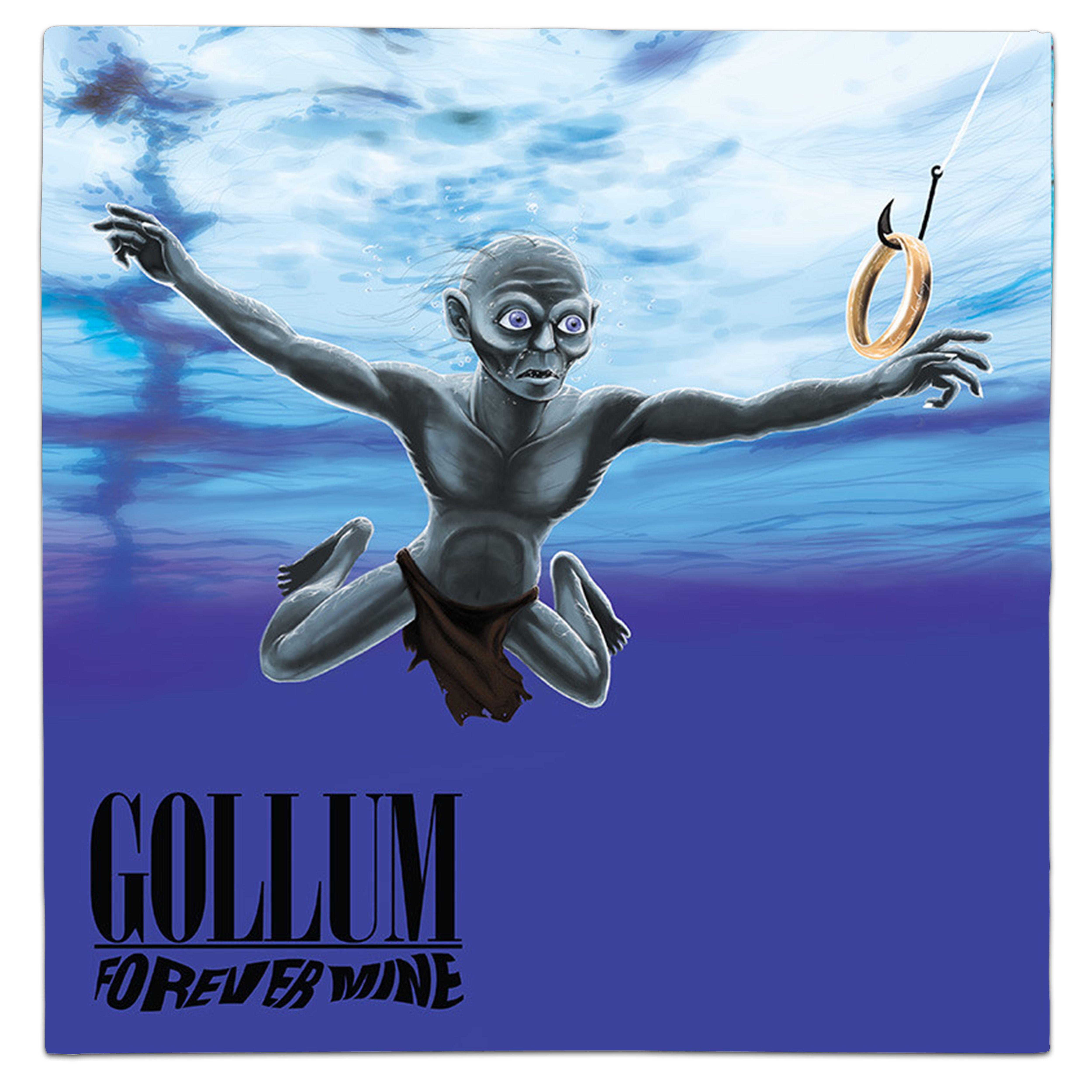 Lord Of Rings Gollum Nirvana Nevermind Vinyl Mash Up Album Parody Source Unknowalbum