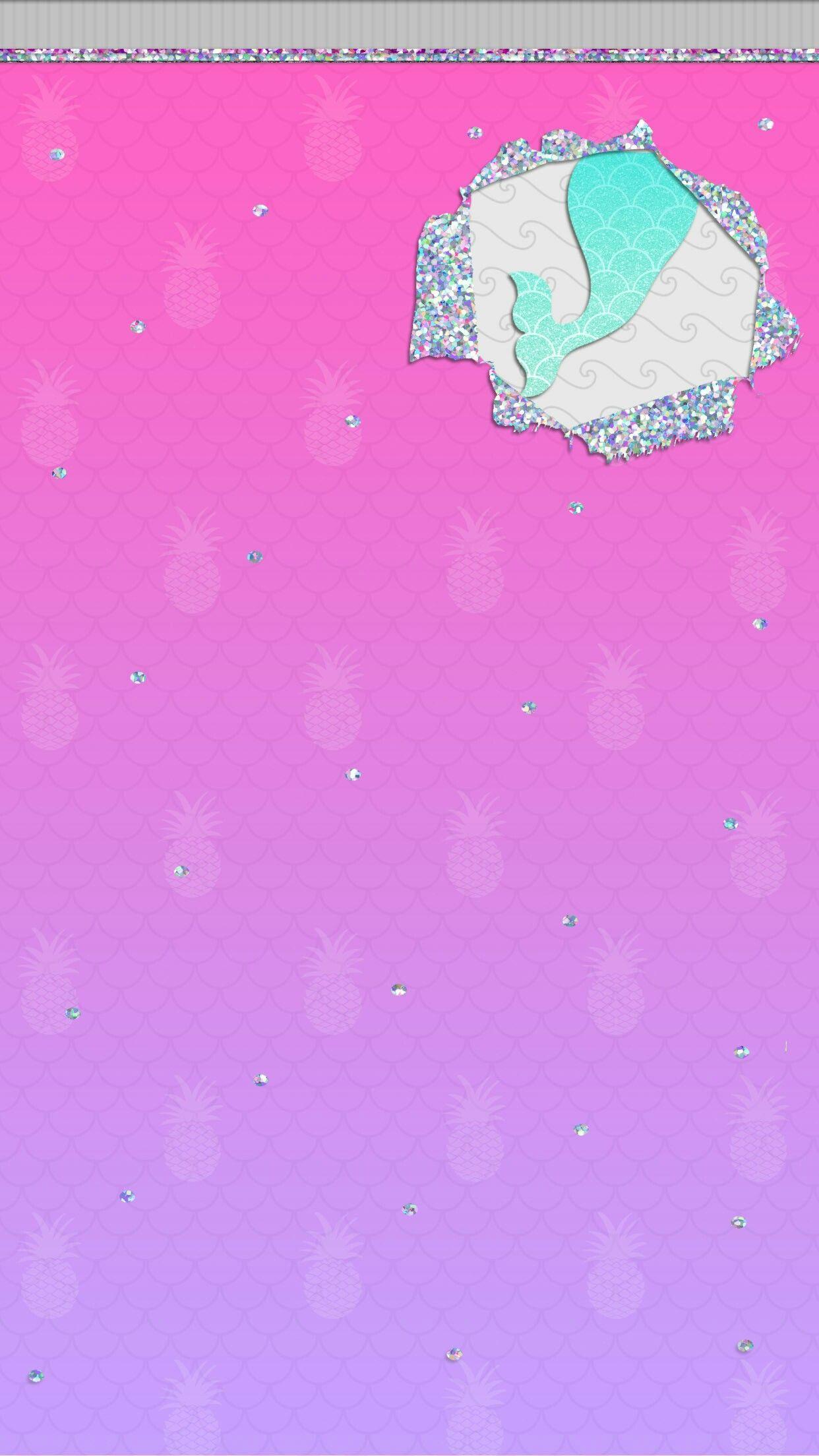iPhone Wall HK tjn Mermaid wallpapers, Glitter