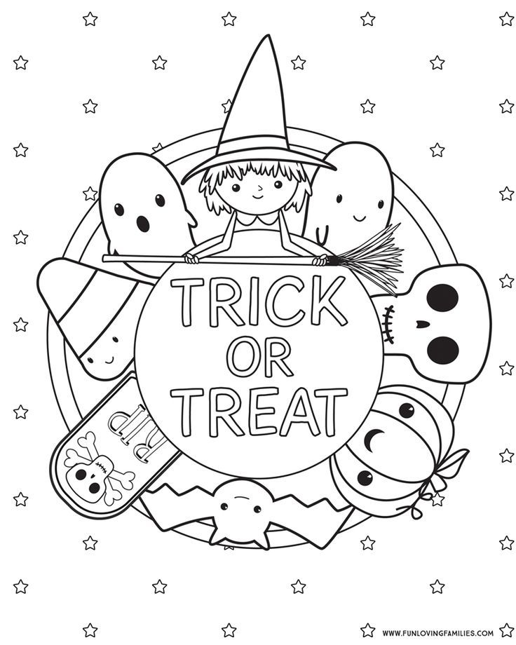 Halloween Coloring Pages Free Printables In 2020 Halloween Coloring Pages Printable Free Halloween Coloring Pages Halloween Coloring Book