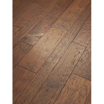 Shaw Floors Hudson Bay Mixed Width Engineered Handscraped Hickory In Copperidge Wayfa Wood Floors Wide Plank Engineered Hardwood Flooring Engineered Hardwood