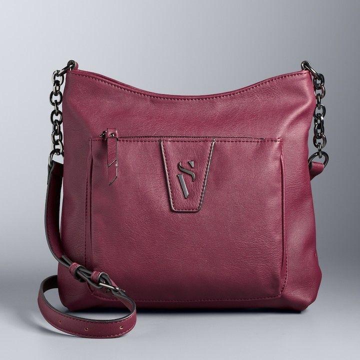 077e6082d23f7f Simply Vera Vera Wang Easton Crossbody Bag | Handbags!! | Crossbody ...