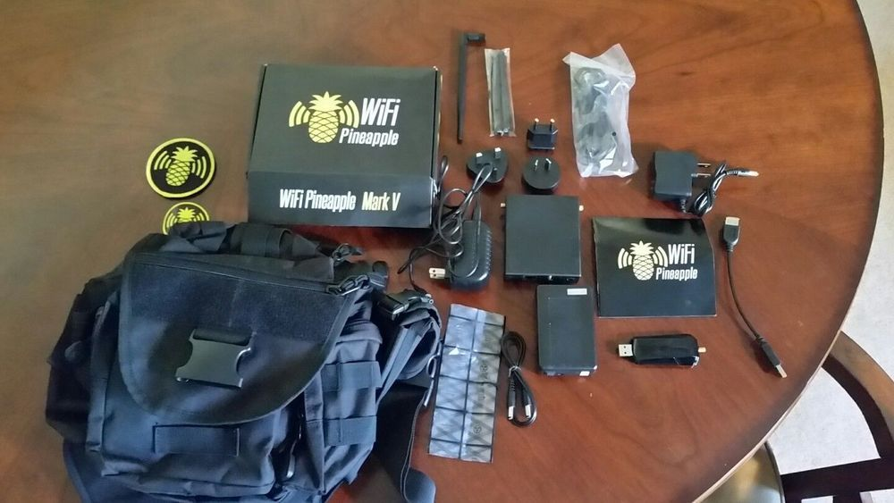 Ultimate WhiteHat pack including Hak5 Wifi Pineapple and