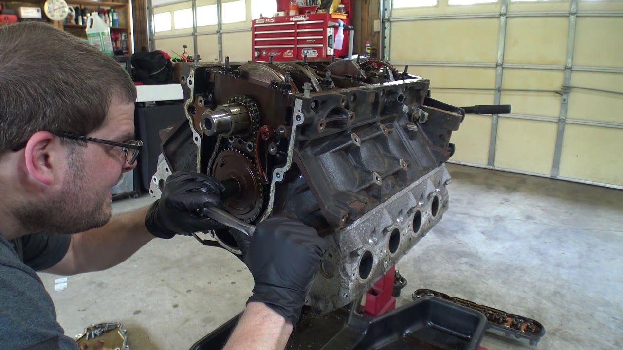 Lets install the SS2 camshaft in the 4.8 for the G35 Swap