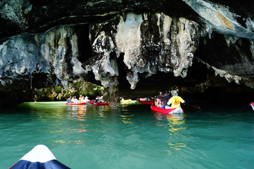 James Bond Island Caves James Bond Island Day Tours