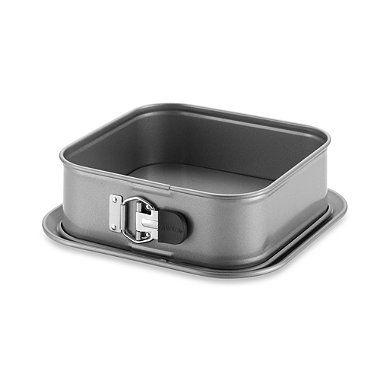 Anolon Advanced Nonstick 9 Inch Square Springform Pan Bed Bath Beyond Nonstick Bakeware Springform Springform Pan Cake