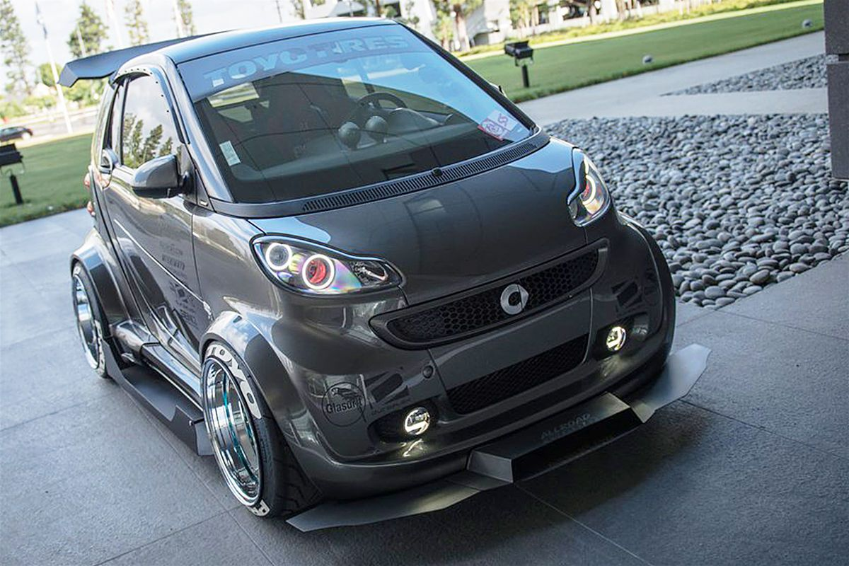 smart fortwo tuning von autokonexion cool cars smart. Black Bedroom Furniture Sets. Home Design Ideas